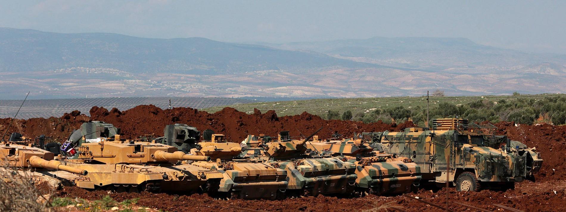 Türkische Armee greift von Amerika unterstützte Kurdenmiliz YPG an