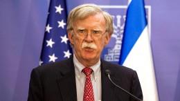 """""""Iran hat keinen Jagdschein für den Nahen Osten"""""""