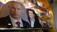 Was will Putin von Deutschland für sein Einlenken in Syrien? - Das ist hier die Frage.