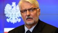 Der polnische Außenminister Witold Waszczykowski