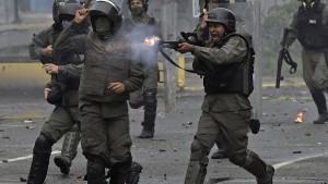 Eskalation in Venezuela befürchtet
