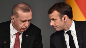 Macron wirft Erdogan im Libyen-Konflikt Wortbruch vor
