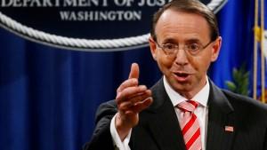 Amerikanischer Vizejustizminister will zurücktreten