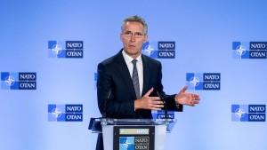 Nato stellt sich hinter Vereinigte Staaten