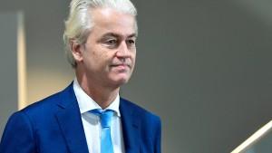Geert Wilders wegen Beleidigung verurteilt