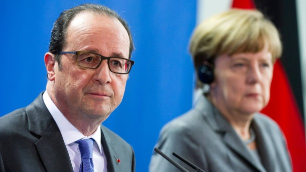 Merkel und Hollande fordern Verzicht Irans auf Atomwaffen