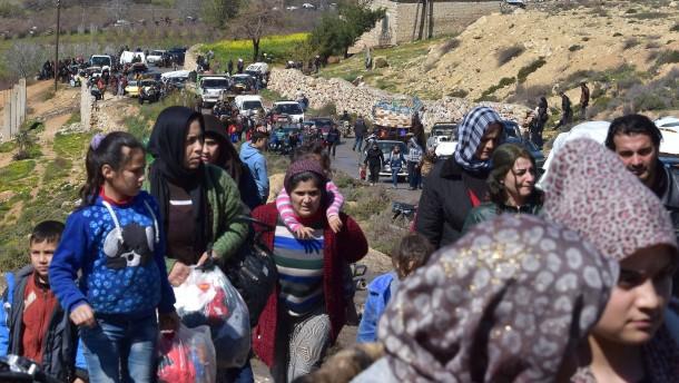 Auf dem Weg nach Türkisch-Afrin