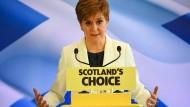 Nicola Sturgeon im Januar 2020 in Edinburgh