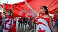 Ohne Frauen keine Revolution: Frauen demonstrieren im Jahr 2013 gegen die islamistische Regierung des Landes.