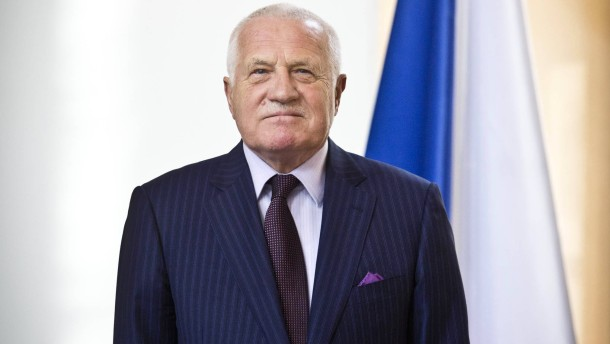Czech President Vaclav Klaus Presents His Book