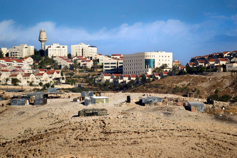 Das Westjordanland: Mehr als 340.000 jüdische Siedler leben inzwischen hier