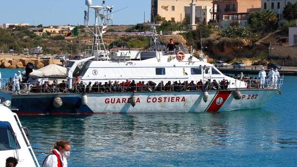 Lampedusa wieder vor dem Kollaps