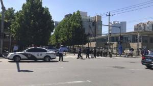 Sprengsatz vor amerikanischer Botschaft in Peking explodiert
