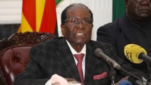 Partei will Amtsenthebung von Mugabe