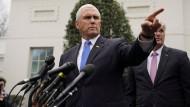 Der amerikanische Vizepräsident Mike Pence hat sich aktiv mit den Geschehnissen in Venezuela befasst