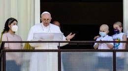 Papst spricht erstmals Angelus-Gebet aus der Klinik
