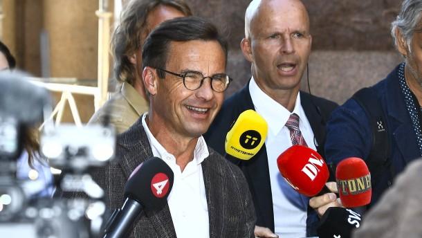 Bürgerlicher soll Regierung in Schweden bilden
