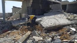 Sieben Krankenhäuser in Idlib zerstört