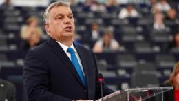 Ungarn wird sich nicht erpressen lassen