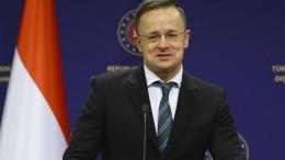 """Ungarn fordert """"mehr Respekt"""" von Amerika"""