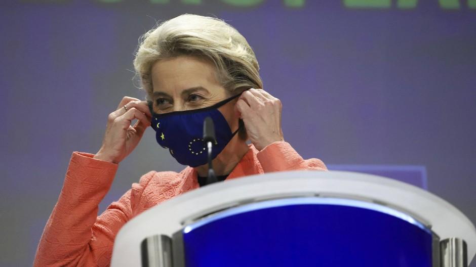 EU-Kommissionspräsidentin Ursula von der Leyen am 14. Juli in Brüssel