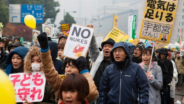 Anti Nuclear Protest in Tokyo