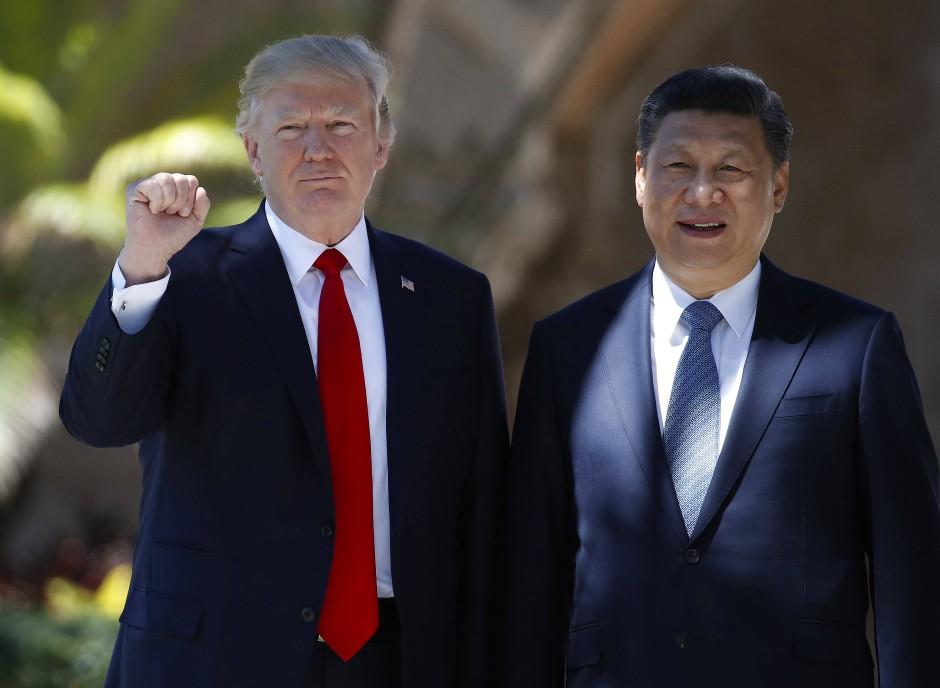 Donald Trump und Xi Jinping: Abgekühltes Verhältnis der beiden Staatsmänner wegen des Nordkorea-Konflikts