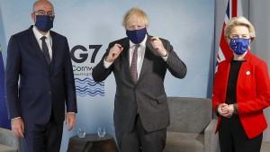 Brexit-Störgeräusche für Johnson