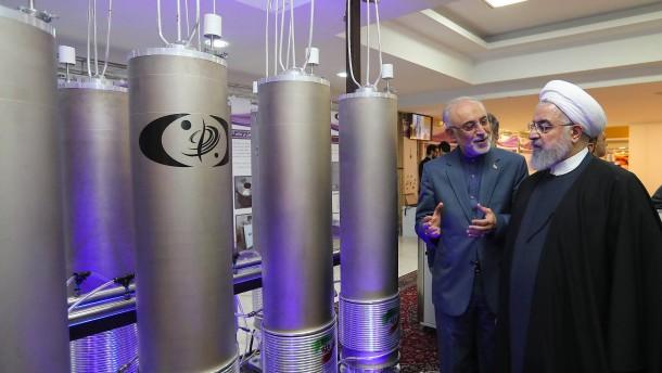 Iran nimmt Uran-Anreicherung wieder auf