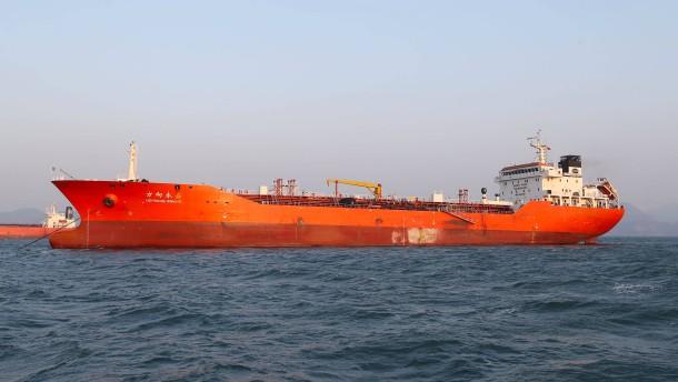 China will gegen illegale Öllieferungen vorgehen