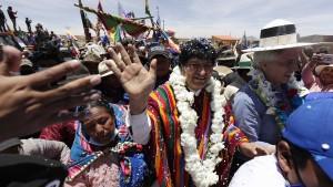 Der Übervater Evo Morales ist zurück