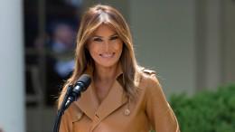 Melania Trump reist weder zum G-7-Gipfel noch nach Singapur