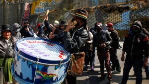 Im Würgegriff der Anhänger von Morales