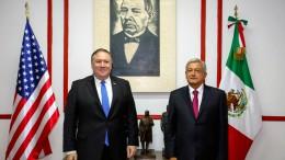 Pompeo trifft künftigen mexikanischen Präsidenten
