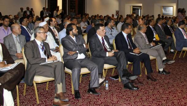 Libysches Parlament wählt seinen Präsidenten