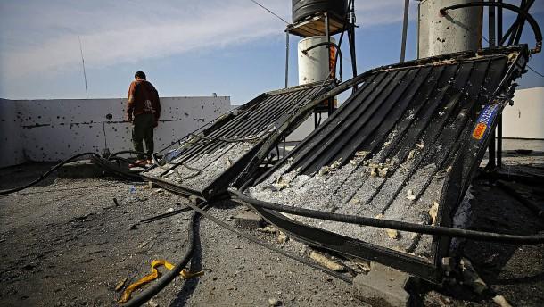 Israel bombardiert Hamas-Stellung im Gazastreifen