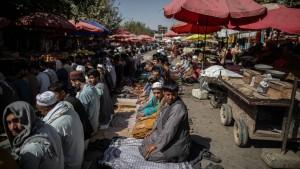 Mehr als 50 Tote bei Explosion in Moschee in Kundus