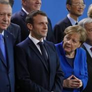 Alle da? Angela Merkel beim Fototermin mit den Gästen der Berliner Libyen-Konferenz
