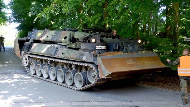 Bundeswehrsoldat stirbt bei Unfall mit Panzer