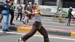 Zwölf Menschen sterben bei Protest gegen Wahlergebnis
