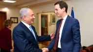 Auf der selben Seite: Jared Kushner und Benjamin Netanjahu