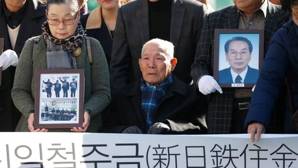 In Korea ruht die Vergangenheit nicht
