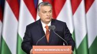 ?Der Westen wird überrannt?: Viktor Orbán bei der Rede zur Lage der Nation