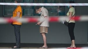 Die Wahl in Singapur dauert länger als geplant