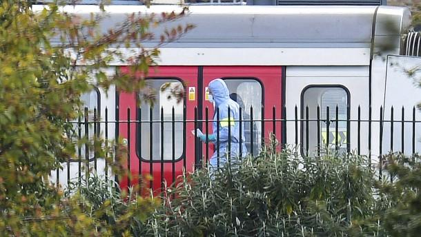 Mindestens 22 Verletzte bei Explosion in U-Bahn