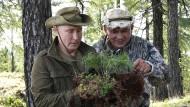 """Wahrer Naturmensch und waschechter Mann: Putin weiß, wie er wahrgenommen werden möchte und unterstreicht dies in dem neuen Sendeformat """"Moskau. Kreml. Putin."""""""
