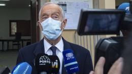 Portugals Präsident Rebelo mit großem Vorsprung wiedergewählt