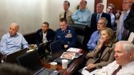 Die Jagd auf Usama bin Ladin: Am 1. Mai 2011 im Lageraum des Weißen Hauses