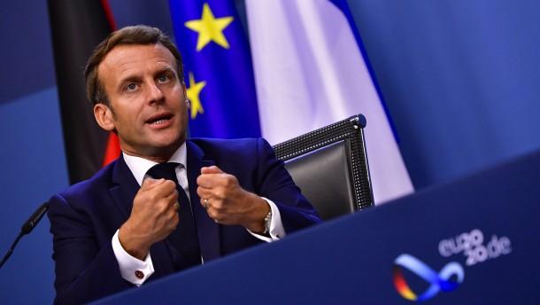 Macron gab den Boxer