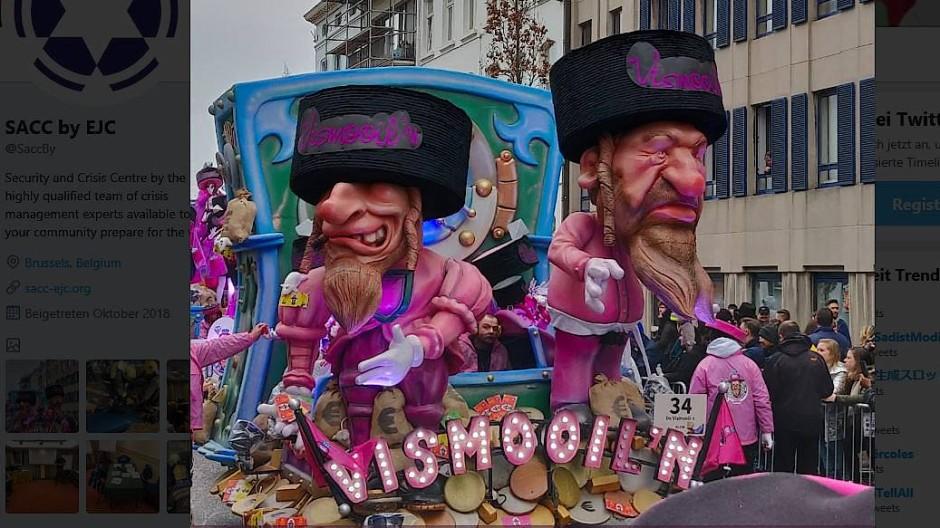 Karnevalsumzug in Aalst